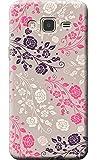 Nainz High Quality 'Flower Pattren' Print Designer Back Case Cover For Samsung Galaxy J3 Pro