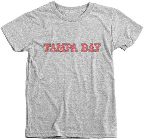 Trunk Candy Boys Tampa Bay Football Club Premium Tri-Blend T-Shirt (Heather White, M(8)) (Tampa Buck Bay)