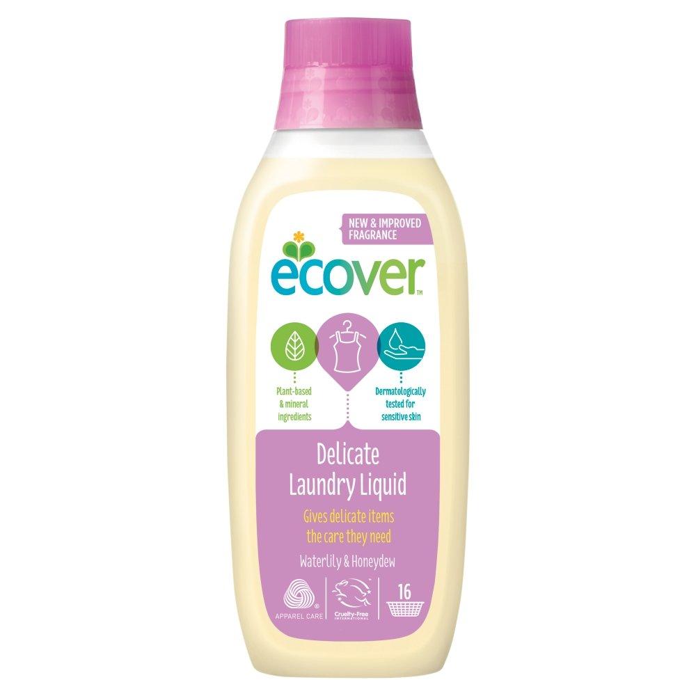Ecover Delicate Laundry Liquid Waterlily & Honeydew 16 Washes, 750 ml ECOVER (UK) VBPHUKA482