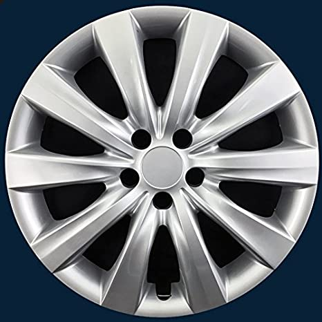 "Para 2011 – 2014 Toyota Corolla 16 ""acero wheels-silver Tapacubos"
