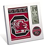 WinCraft NCAA University of South Carolina Desk Clock, Black
