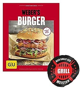 Weber Burger (GU S barbacoas) Burger recién vom + Grill Meister Design by collectix: Amazon.es: Jardín
