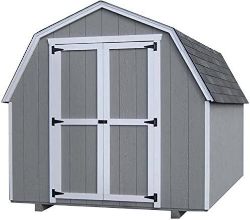 8x12 wood shed