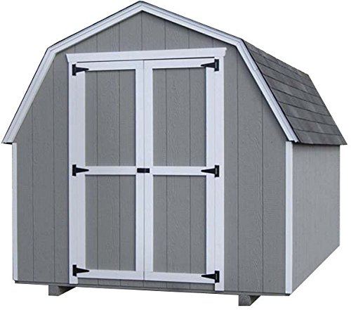 Little Cottage COmpnay 10'x12′ Value Gambrel 4′ Precut Shed Kit