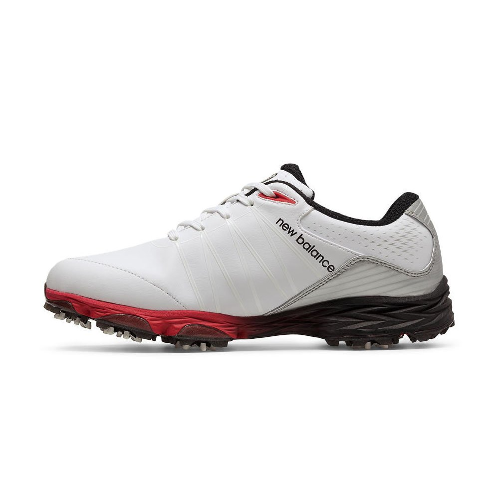 228848e94fef8 Amazon.com: New Balance Mens Nbg2004 Golf Shoes White/Red 4E 10: Sports &  Outdoors