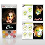 Cat Face Painting Kits from Snazaroo (8 Colors)