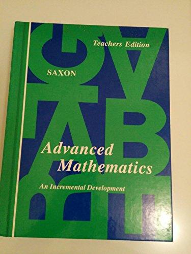 Advanced mathematics: An incremental development
