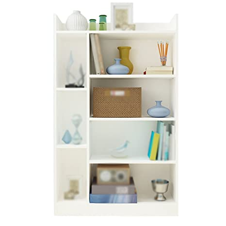 DFHHG® Libreria, lastra di cartone a fogli mobili White Walnut ...