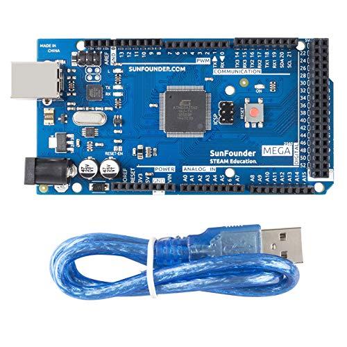 Generic Mega 2560 Arduino Mega 2560 R3 Microcontroller Board Based, Blue