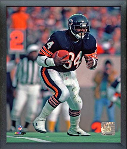 Walter Payton Action Framed Photo - Walter Payton Chicago Bears Action Photo (Size: 17