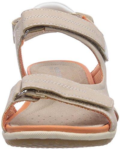 Vega Femme Sandales Ouvertes D A Geox beigec5000 Beige Sandal w6PCBq6ZF