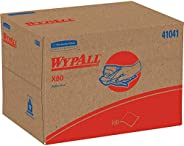 Wypall X80 Reusable Wipes (41041), Extended Use Wipers BRAG Box Format, Blue, 160 Sheets / Box; 1 Box / Case