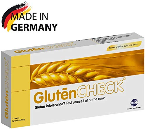 GlutenCHECK Coeliac Disease Home Blood Test Kit for Gluten Intolerance – Results in 10 Minutes