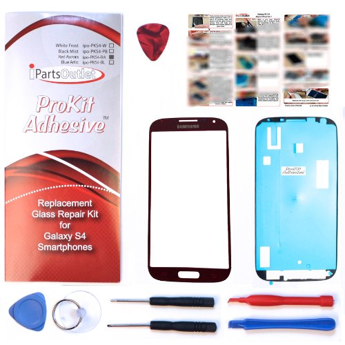 ProKit adhesive for Red Aurora Replacement Screen Glass Lens repair Kit S4 IV i9500 s4 prokit - Aurora Malls Outlet