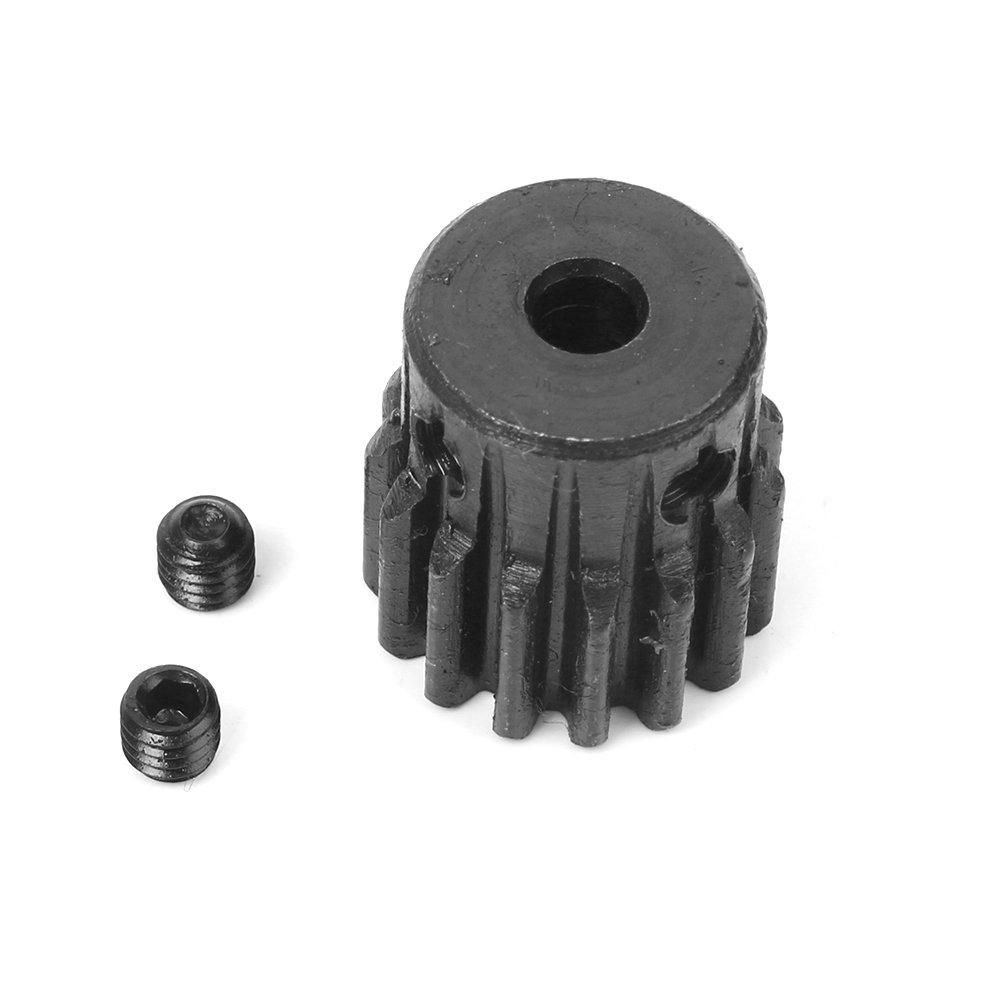 7mm Bore Hole 15 Teeth 15T Module 1 Motor Metal Gear Wheel with Top Screws M4