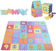 36x Baby Children Play EVA Mats Alphabet Number Soft Foam Floor Mat Puzzle YU