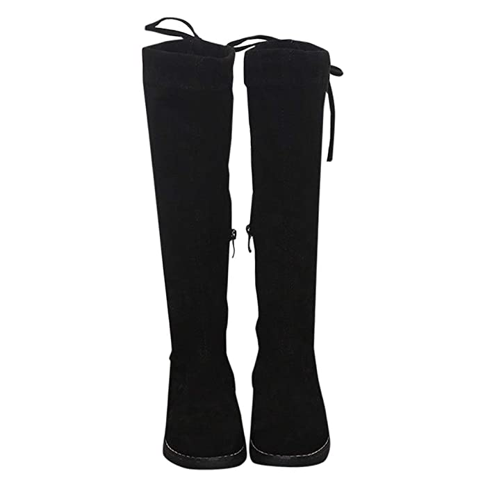 Hopscotch Girls PU Knee Length Boots in