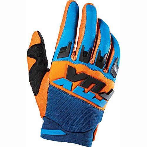 Motorcycle Dirtpaw Gloves (Fox Racing Dirtpaw Mako Men's MotoX Motorcycle Gloves - Orange/Small)