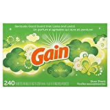 Health & Personal Care : Gain Dryer Sheets, Original, 240 Count (Packaging May Vary)