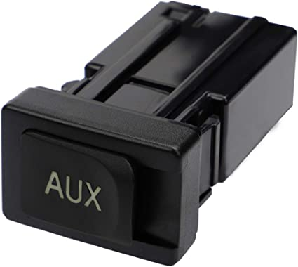 Aux Port for Toyota Camry Highlander Matrix Venza Auxiliary Stereo Adaptor Assembly Input Jack 86190-02020