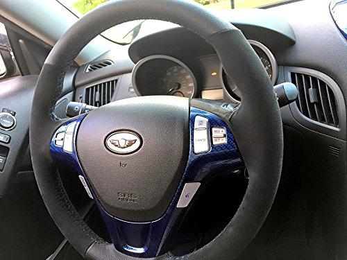 Amazon.com: Hyundai Genesis Coupe 2013-15 cubierta del volante de RedlineGoods: Automotive