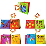 Infant Baby Kid Child Early Intelligence Development Cloth Book Cognize Book Funny Toys (Color 6)