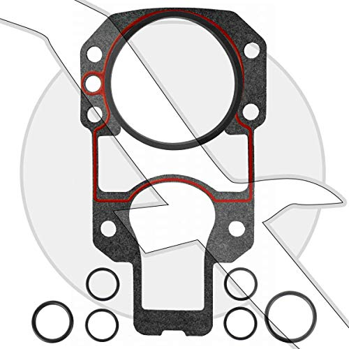 (Sterndrive Outdrive Mounting Gasket Set Kit for Mercruiser Alpha One Drive replaces 27-94996Q2)