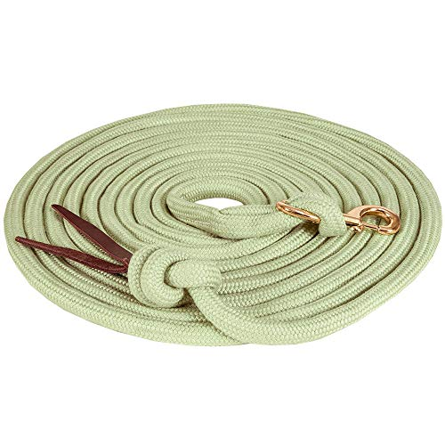 Mustang Manufacturing Company Bamtex Braided Lunge Line 5/8X25 ()