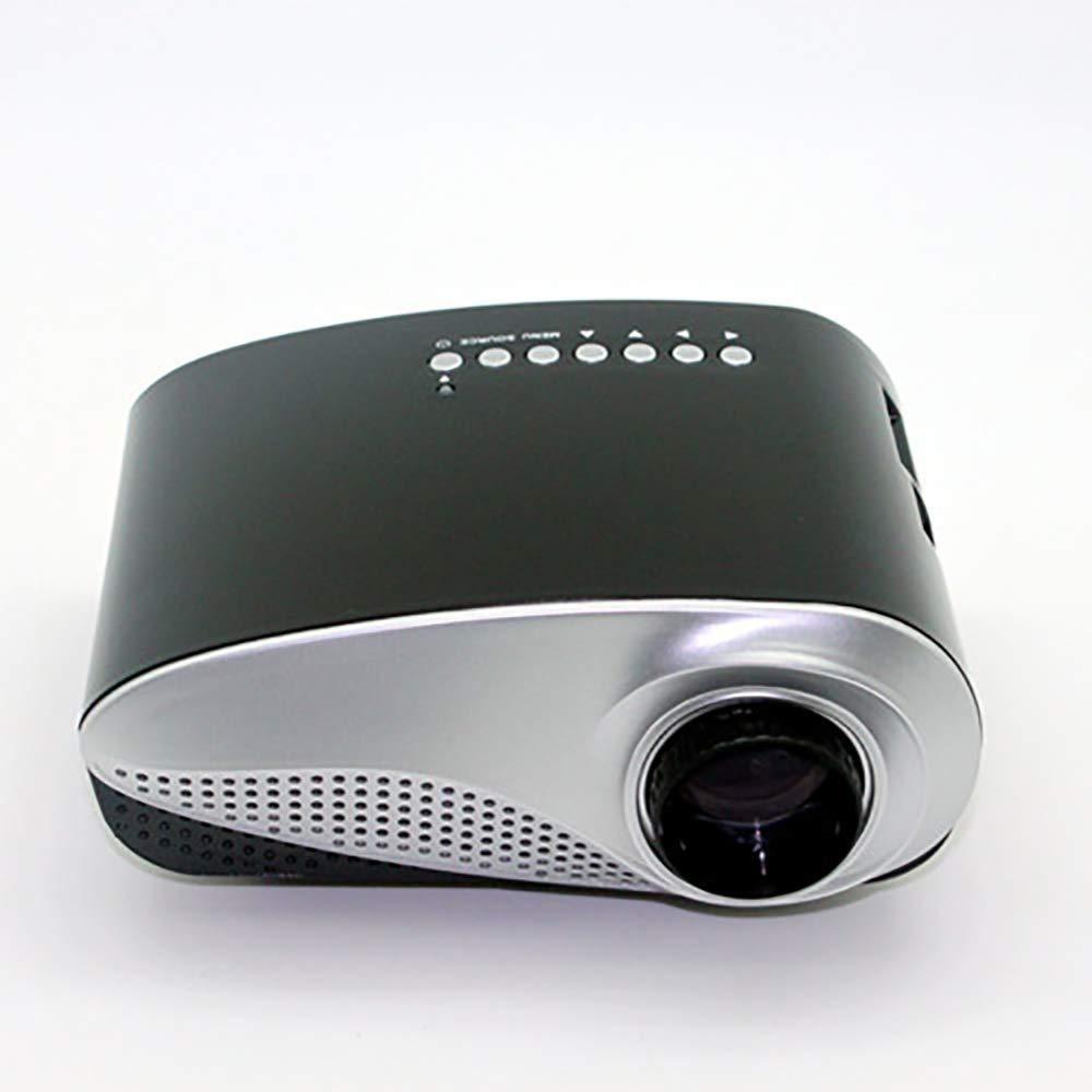 Electz Proyector 2000 lúmenes Video proyector Portátil Mini ...