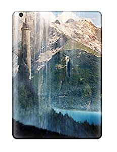 Shock-dirt Proof Waterfalls Scenery Case Cover For Ipad Air