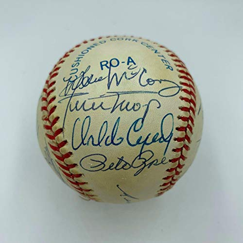 - Extraordinary Rookie Of The Year Signed Baseball (20) Willie Mays Tom Seaver - JSA Certified - Autographed Baseballs