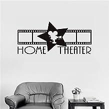 Vinyl stickers wall Home decor Wall Decor Art Sticker Home decals Home Theatre Sign for home theater