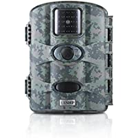 Wildlife Camera OUTAD 12MP 1080P HD Trail & Game Camera for Hunting with Night Vision No Glow Infrared Scouting Camera,2.4 inch LCD Screen,PIR Sensors,IP 65 Waterproof