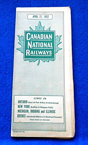 Canadian Pacific Passenger Train Schedules and other Information; April 28, 1946