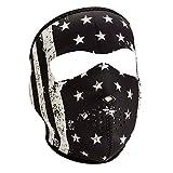Zan Headgear Face Mask B&W Vintage Flag WNFM091