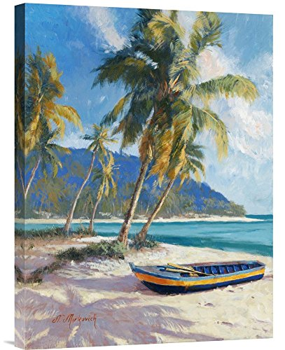 Global Gallery Budget N. Mirkovich Island Dream Gallery Wrap Giclee on Canvas Print Wall ()
