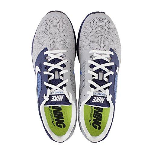 Nike Air Zoom Fly 2, Zapatillas de Running para Hombre Azul (Azul (Lyl Blue/White-Wlf Gry-Pht Bl))