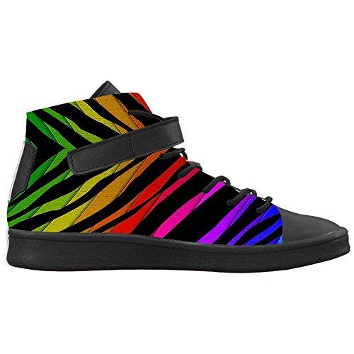 Dalliy zebra stripe Womens Canvas shoes Schuhe Footwear Sneakers shoes Schuhe D