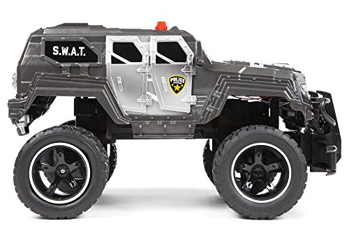 World Tech Toys S.W.A.T. Truck 1: 14 RTR Electric RC Monster Truck