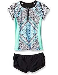 Seafolly Big Girls' Aztec Tapestry Surf Set