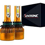 led h12 headlight bulb - Xentronic C6 9005 High Power LED headlight bulb conversion kit (1 pair bulb, coolwhite 6000K, also fit HB3, 9011, 9055, h12, 9145)