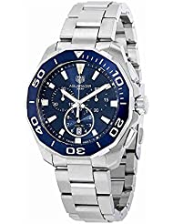 Tag Heuer Watches Tag Heuer Mens Aquaracer Watch (Blue)