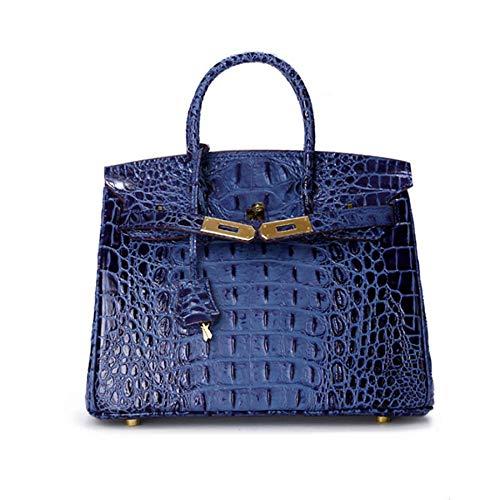 pour Gold épaule Dames Sacs en Classique Platinum modèle Mode Crocodile Main WWAVE Main à de à Sac blue d'OS diagonales Cuir Sac S Seule qwHxZOdt