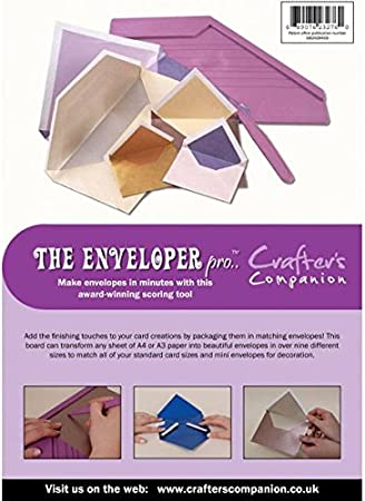 Crafters Companion The Enveloplus Board Scoreboard Enveloper Plus One Size