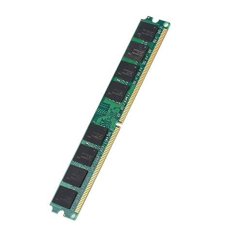 Jacksking Memoria DDR2, 2GB DDR2 667MHz PC2-5300 Tarjeta de ...