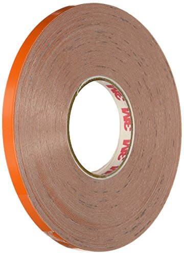 3 m Scotchlite reflectante Striping rollos de cinta, naranja.25-inch por 50-foot