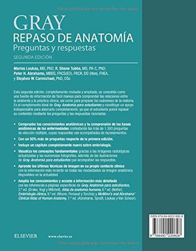 Gray. Repaso de anatomía: Varios Autores: Amazon.com.mx: Libros