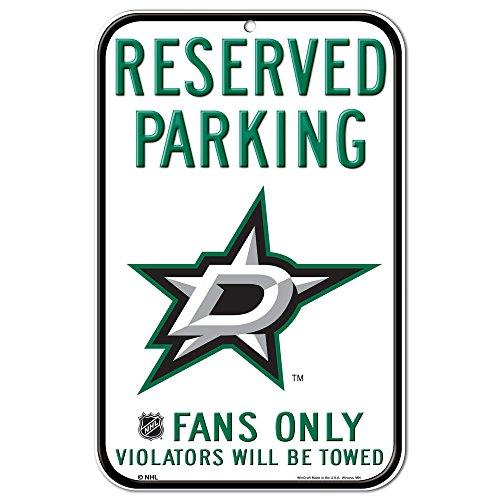 WinCraft NHL Dallas Stars 29546013 Plastic Sign, 11