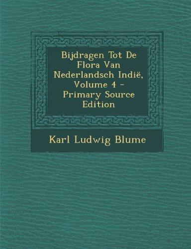 Bijdragen Tot de Flora Van Nederlandsch Indie, Volume 4 (Dutch Edition)
