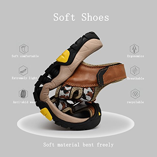 Sandals Camouflage Camo Shoes Colors 5 Bottom Water Soft 6 Hiking USA Men's Skid 4 resistant Beach Black 9 Outdoor Shoes qw5CHnPE